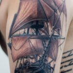 clipper_ship_tattoo
